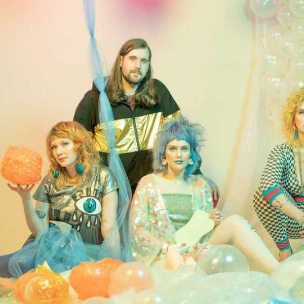 Tacocat share new video 'Crystal Ball'