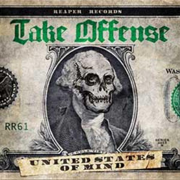 take offense united states of mind album cover