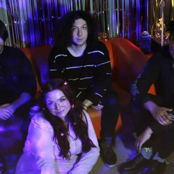 Dream pop / shoegaze outfit Talking Violet share video for new single 'Indigo'