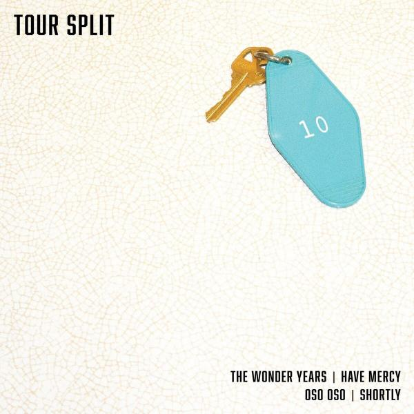 The Wonder Years to release covers split ahead of Fall tour