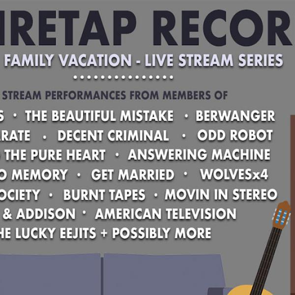 Wiretap Records announce month-long live stream series